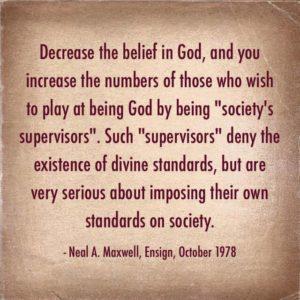 divine moral standards